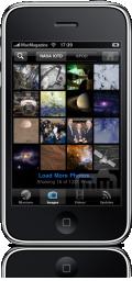 NASA app no iPhone