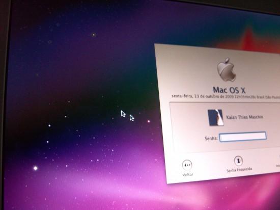 Mac FAIL cursores duplos