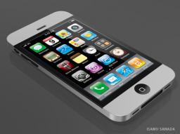 iPhone 4G unibody, por Isamu Sanada