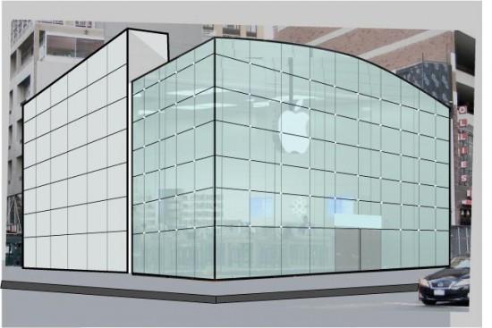 Render Apple Store Broadway