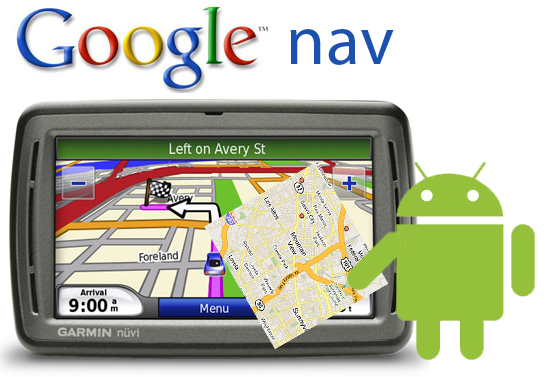 Google nav GPS