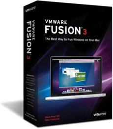 Caixa do VMware Fusion 3.0