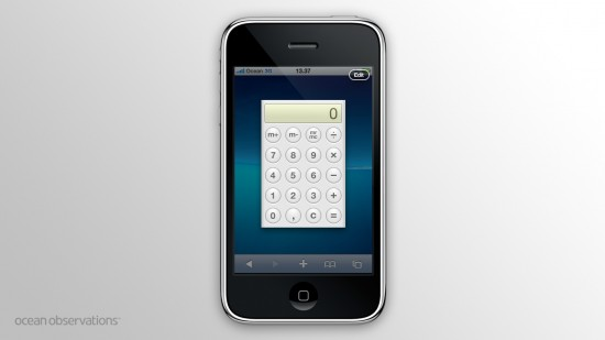 Dashboard para iPhone