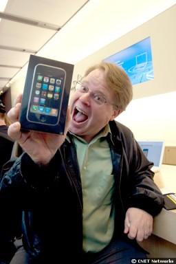 Robert Scoble e seu iPhone
