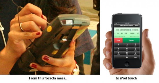 Apple EasyPay para iPod touch