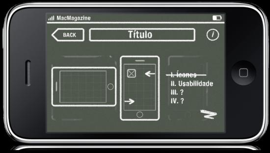 Design de interface para iPhone OS