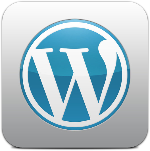 Ícone do WordPress para iOS