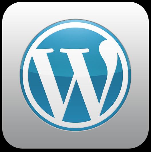 Ícone do WordPress para iOS