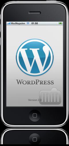 WordPress 2 no iPhone