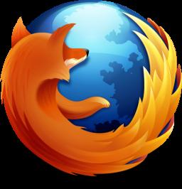Ícone do Firefox (com sombra)