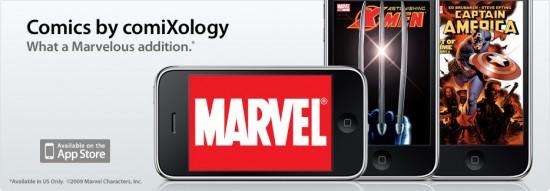 Marvel Comics no iPhone