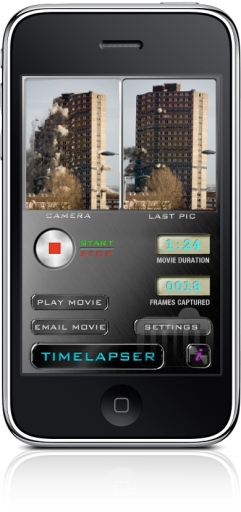 Timelapser no iPhone