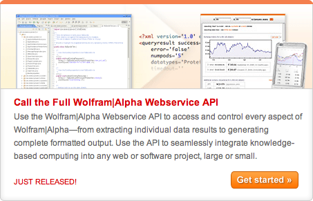 WolframAlfa - API