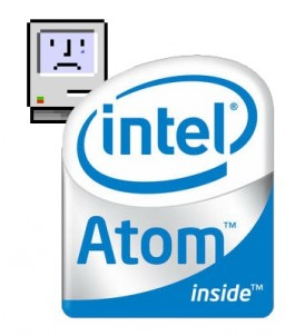 Sad Mac - Intel Atom