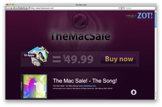 TheMacSale 2