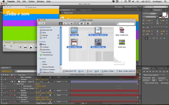 Mac FAIL gráfico arquivos