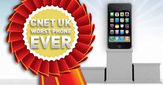 Pior telefone da história: iPhone