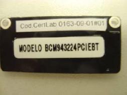 Componente Wi-Fi de MacBook, da Broadcom
