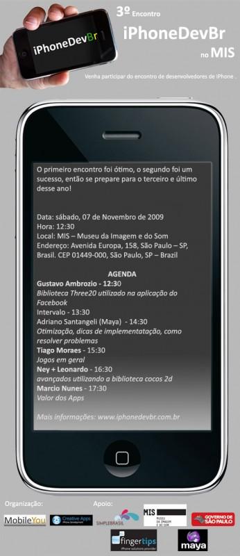 3º Encontro iPhoneDevBr