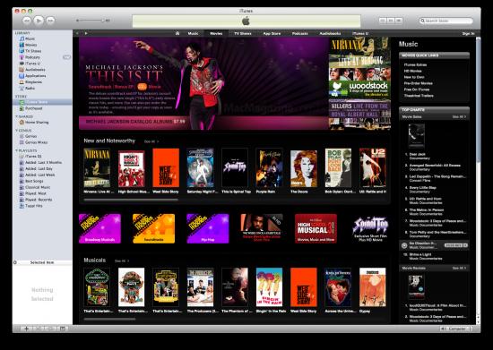 iTunes Music Movies