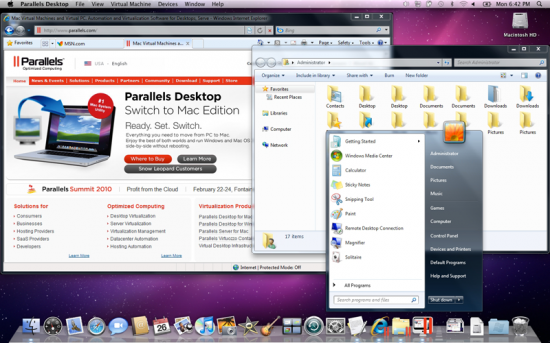 Parallels Desktop 5 para Mac