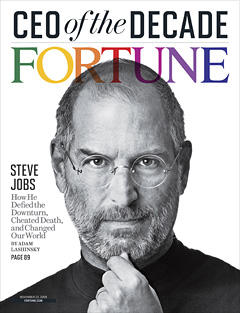 Steve Jobs - CEO of the DECADE, pela FORTUNE