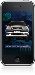 Ford Ranger no iPhone