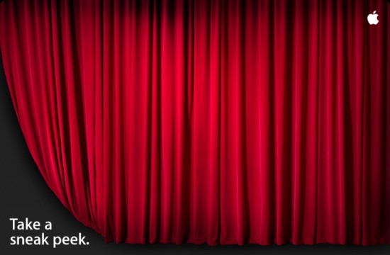 Apple cortina - Inauguração Retail Store Broadway