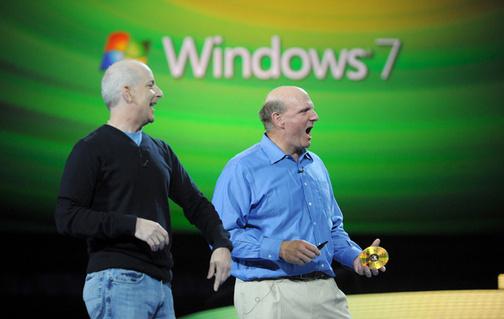 Steve Ballmer e Windows 7