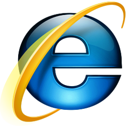 Ícone do Microsoft Internet Explorer