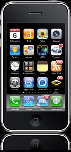 iPhone FAIL barra superior sumida