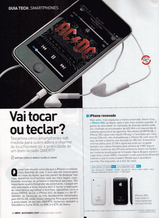 INFO FAIL iPhone ou iPod touch