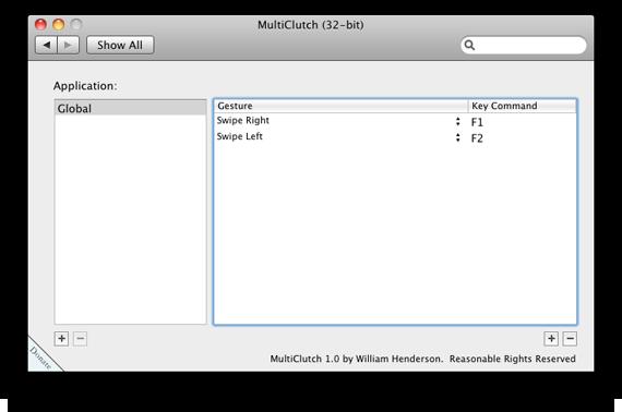 MultiClutch e Magic Mouse