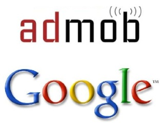 Logos da AdMob e do Google