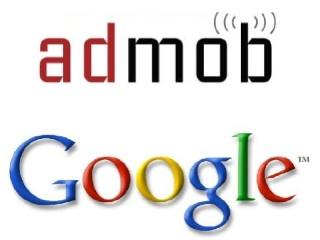 Logos da AdMob e do Google