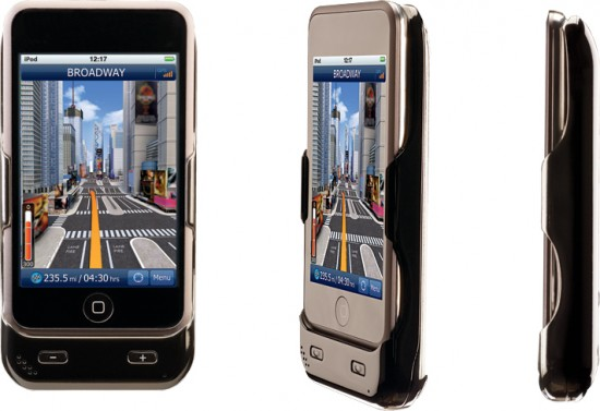Dual Electronics GPS Cradle for iPod touch