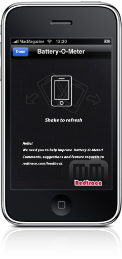 Battery-O-Meter no iPhone