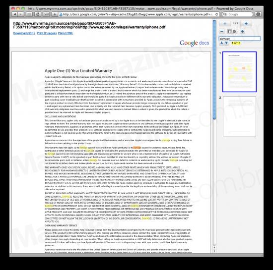 Busca em PDF no Google