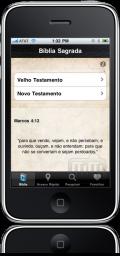 Bíblia Sagrada no iPhone