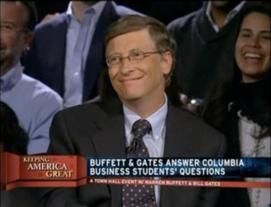 Bill Gates falando sobre Jobs