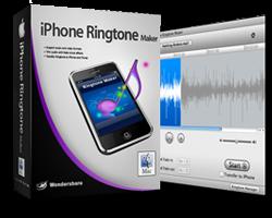 Caixa do iPhone Ringtone Maker para Mac