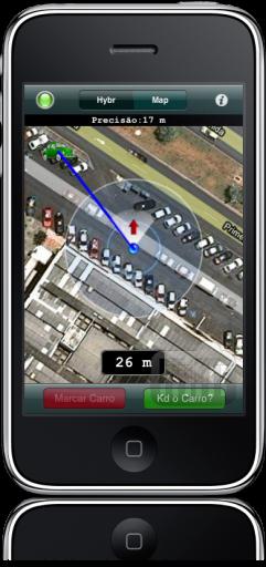 Kd o Carro? no iPhone