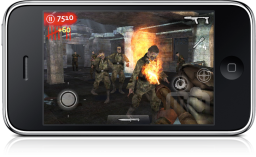 Call of Duty: World at War: Zombies no iPhone