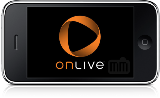 OnLive no iPhone