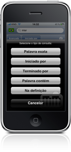 Michaelis no iPhone