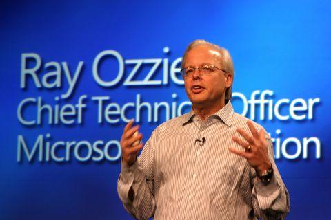 Ray Ozzie, da Microsoft: