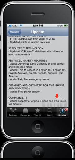 TomTom 1.2 para iPhone