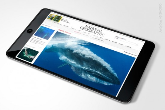 Apple tablet com National Geographic