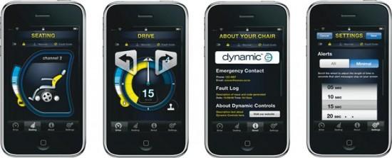 Dynamic Controls - iPhone e cadeiras de roda