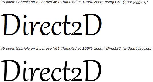 Diferença de renderização de texto entre Internet Explorer 8 e 9: o segundo exemplo já é atingível no Safari há um bom tempo